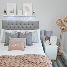 MALM Chest of 2 drawers white IKEA Girl Bedroom Designs Chest drawers Ikea Malm White Teen Bedroom Designs, Bedroom Decor For Teen Girls, Cute Bedroom Ideas, Room Ideas Bedroom, Small Room Bedroom, Home Decor Bedroom, Bedroom Inspiration, Grey Bedroom Design, Pink Teen Bedrooms