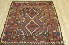 Item No : R-5136  Style : Kilim  Province : Anatoly  Made In : Turkey  Foundation : Wool  Pile : 100% Wool  Colors : Black,Rust Red, Yellow, Blue, Green, Brown  Size in Feet : 9' 6'' X 6' 8''  Size in CM : 287 X 203  Shape : Rectangle  Age : Recently Made  Condition : Excellent  Woven : Hand Woven