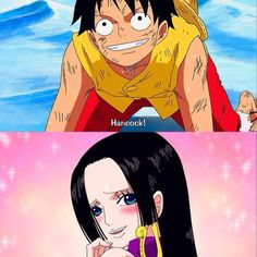 Luffy (One Piece) One Piece World, One Piece Ship, One Piece Luffy, One Piece Meme, One Piece Manga, Luffy And Hancock, The Pirate King, One Piece Images, Manga Couple
