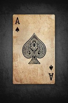 People who sport the Ace of Spades are, whether they know it or not, announcing that they welcome death as a means to a better existence, or simply, that they are not afraid of death and the changes it will bring. This is why the Ace of Spades is popular with soldiers.