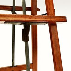 Interesting pine double easel