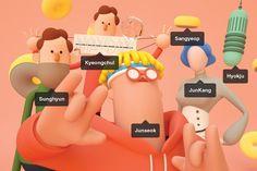 Realistic Illustrations About Social Media – Fubiz Media