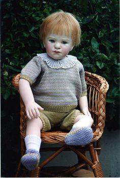 Ella Hass cloth doll.
