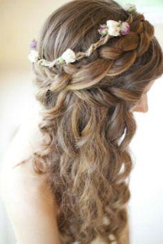 waterfall braid -boho chic :)
