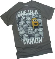One In A Minion -- Despicable Me 2 Adult T-Shirt, X-Large - http://www.scribd.com/doc/278048717/