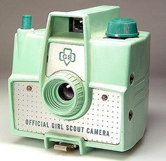 Vintage Girl Scouts camera!