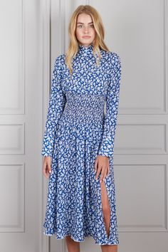 Juliette Smocked Long Sleeve Midi Dress – SENLIS $178 Long Sleeve Midi Dress, Maxi Dress With Sleeves, Dress Up, Baptism Dress, Mid Length Skirts, Sleeveless Crop Top, Smocking, Style Inspiration, Southern Belle