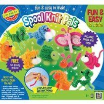 Colorbok Spool Knit Critters Kit gift idea for Mere?