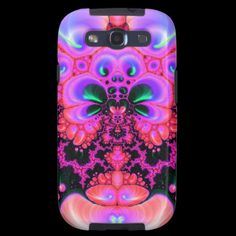 Quetzalcoatl Blossom V 2  Galaxy S3 Vibe Case, from Bill M. Tracer Studio, Available at Zazzle: http://www.zazzle.com/quetzalcoatl_blossom_v_2_galaxy_s3_vibe_case-179308268711083277