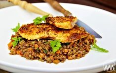 Halibut, Fried Rice, Risotto, Fries, Beef, Ethnic Recipes, Italy, Bakken, Meat