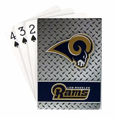 Rico Industries NFL Los Angeles Rams Face Tattoos