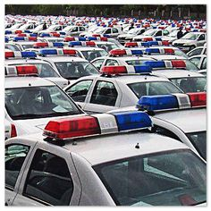 Situaţia parcului auto al Poliţiei Române