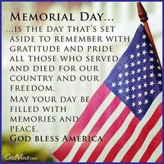 Happy Memorial Day 2016 Wishes quotes sms messages greetings