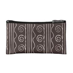 Cosmetic Bag Bianco Nero - white gifts elegant diy gift ideas