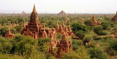 View from Dhamma Za Yi Ka, Myanmar