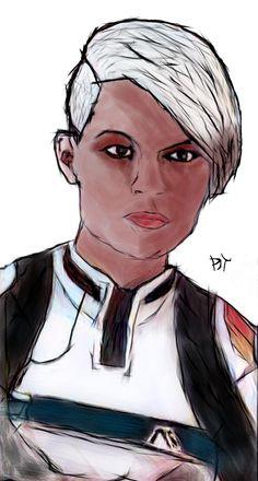 Cora / Mass Effect Andromeda by DjTrecool.deviantart.com on @DeviantArt