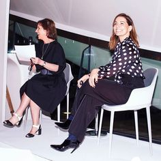 Last night at London's Serpentine Sackler Gallery following a private viewing of Zaha Hadid: Early Paintings and Drawings guests of #PORTERmagazine sipped #LaurentPerrier champagne and looked on as Kirsty Wark interviewed Yana Peel in the debut #IncredibleWomenTalks. In association with #EsteeLauder  via PORTER MAGAZINE OFFICIAL INSTAGRAM - Celebrity  Fashion  Haute Couture  Advertising  Culture  Beauty  Editorial Photography  Magazine Covers  Supermodels  Runway Models