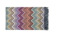Perseo Throw  Contemporary, Upholstery  Fabric, Bedding  Throw by Missoni Home