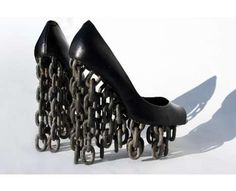 91 Bizarre Shoes - Seriously Strange Footwear, From Winged Sandals to Staple Heels (CLUSTER)