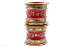 Checkout this latest Bracelet & Bangles Product Name: *Traditional Eligant Bridal Chuda* Sizes:2.4, 2.6, 2.8, 2.10 Country of Origin: India Easy Returns Available In Case Of Any Issue   Catalog Rating: ★4.3 (372)  Catalog Name: Diva Colorful Bracelet & Bangles CatalogID_2051330 C77-SC1094 Code: 583-11049400-6411