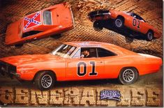 The General Lee, a 1969 Dodge Charger