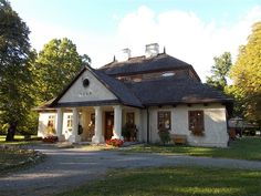 Manor Houses, Home Fashion, Cabin, House Styles, Home Decor, Poland, Decoration Home, Room Decor, Cabins
