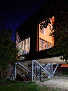 maison individuelle neuve RT 2012 à Rennes (35) - zone inondable et ... - mnm architectes - Rennes