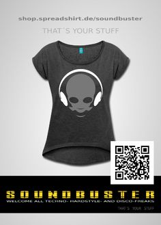 SOUNDBUSTER - Fashion Shop for Music- and Disco-Freaks ... shop, shirts, music, sound, design, outfit, stuff,