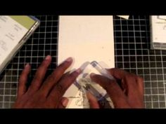 Stampin' Up! Tutorial - 2012 Christmas Series #6 - Scraps & Stamps - YouTube
