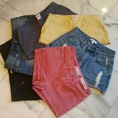Bundle Of Shorts All shorts will fit, they were my daughters at the same time. $31 if purchased separately. Read descriptions in separate listings. Bundle with my Bullhead Bermudas and I will give you a fab deal on all of it! Various Shorts