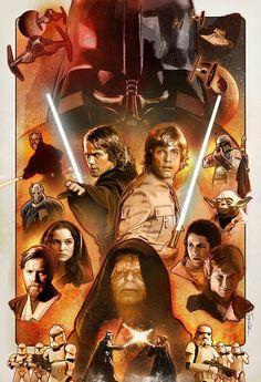 Anakin & Luke - Steven Anderson