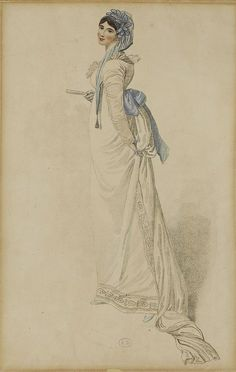 Such an elegant ensemble. 1809