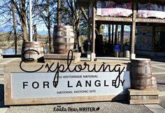 Fort Langley National Historic Site near Vancouver, BC, offers tons of hands-on activities for kids to explore fur trade life and BC's early history. Enter to WIN an annual family pass from The Children's Directory for my #BloggersFete giveaway Aug 10-31, 2015!