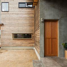 Bar Interior, Interior And Exterior, Bali House, Wooden Facade, Passive House, Home Studio, Home Goods, New Homes, House Design