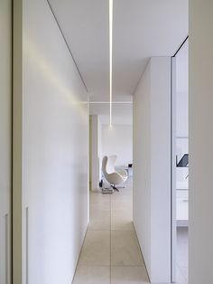 adayinthelandofnobody: Bitterli House by Roger Stüssi #corridor #slim #application