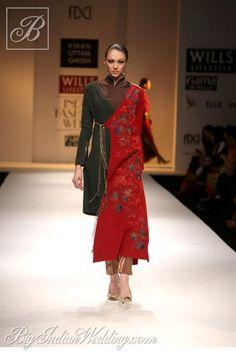 Kiran Uttam Ghosh Wills Lifestyle India Fashion Week 2013 - Cocktail Wear - Bigindianwedding Cocktail Wear, Cocktail Gowns, India Fashion Week, Fashion Show, Modern India, Wills Lifestyle, High End Fashion, Exclusive Collection, Formal Wear
