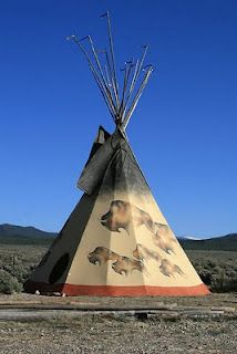 Pretty much all tee pees remind me of Pause.