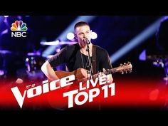 """The Voice 2016 Nick Hagelin - Top 11: """"Your Body Is a Wonderland"""" - YouTube"""