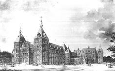 Koloniaal Instituut in Amsterdam, tegenwoordig Instituut voor de Tropen