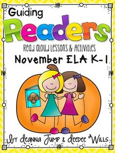 Guiding Readers: November NO PREP ELA Unit for K-1 ~ Hot off the Press and on Sale!