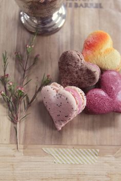 greige: interior design ideas and inspiration for the transitional home : Rocq Macarons a Valentine's Giveaway. Homemade Desserts, Healthy Desserts, Just Desserts, All Things Fabulous, Cupcake Cookies, Cupcakes, Afternoon Tea, Food Styling, Bakery