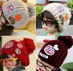 a006f53dcfb Baby Hats · Hot Selling Boys And Girls Knitted Cap Kids Beanies Hat Kids  Beanies