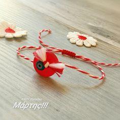 Handmade Jewellery, Handmade Bracelets, Baba Marta, Funny Food, Macrame Bracelets, Bulgarian, Ring Bracelet, Fabric Art, Diy And Crafts