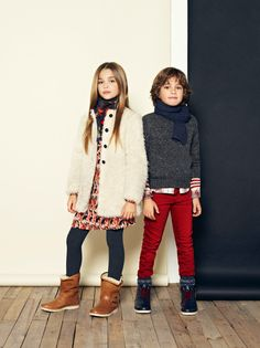 Mango Kids autumn/winter 2013 lookbook - Page 5 - Fashion news - Junior