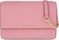 Michael Kors Daniela SM Crossbody Schultertasche #Tasche #Handtasche #Rosa #Rosarot #Leder #Damen #Frauen #Accessoire #Galaxus