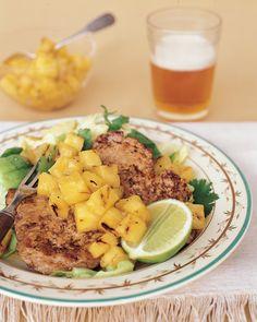 Dinner Tonight: Pork Paillards with Orange Marmalade Vinaigrette