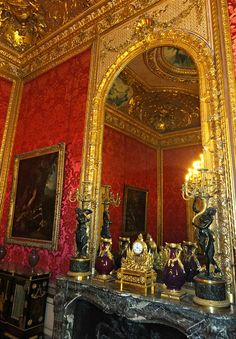 The Louvre, the Imperial apartments of Napoleon  III ,  Paris, France