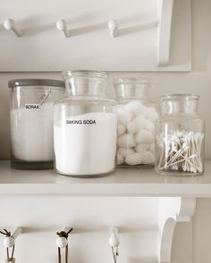 Martha's Laundry Room Redo: Tips to Organize a Small Space Martha recently turned a pantry closet in Laundry Detergent, Room Organization, Room Redo, Laundry Room Organization, Pantry Redo, Closet Hacks Organizing, Pantry Closet, Laundry, Diy Dryer Sheets