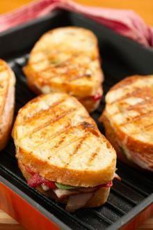 food experts: Avocado Turkey and Brie Panini Recipe