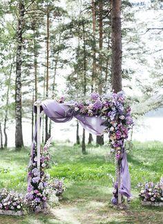 Lilac Wedding Colors, Lavender Wedding Decorations, Lavender Wedding Theme, Wedding Flower Guide, Wedding Ceremony Decorations, Light Purple Wedding, Lavender Weddings, Wedding Backdrops, Wedding Ideas